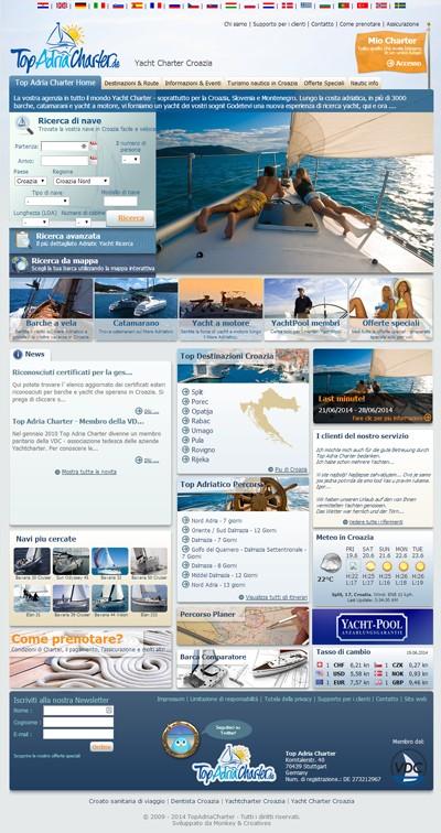 Yacht Charter Croazia